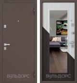 Стальная дверь Бульдорс 13Т с зеркалом