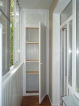 Алюминиевые и пластиковые балконы